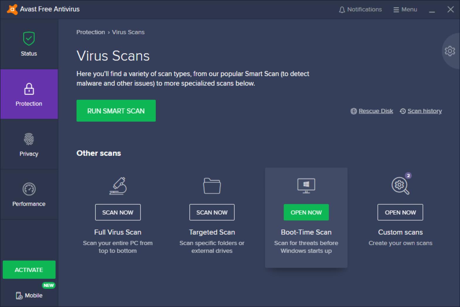 How To Fix Avast UI Failed To Load Error